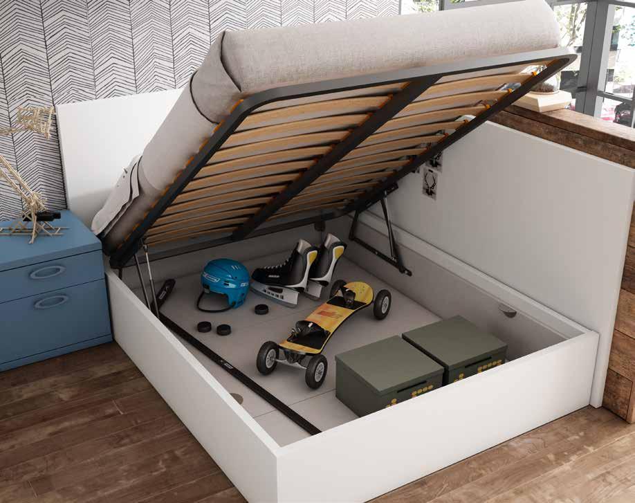 Trucos para ganar espacio - debajo de la cama