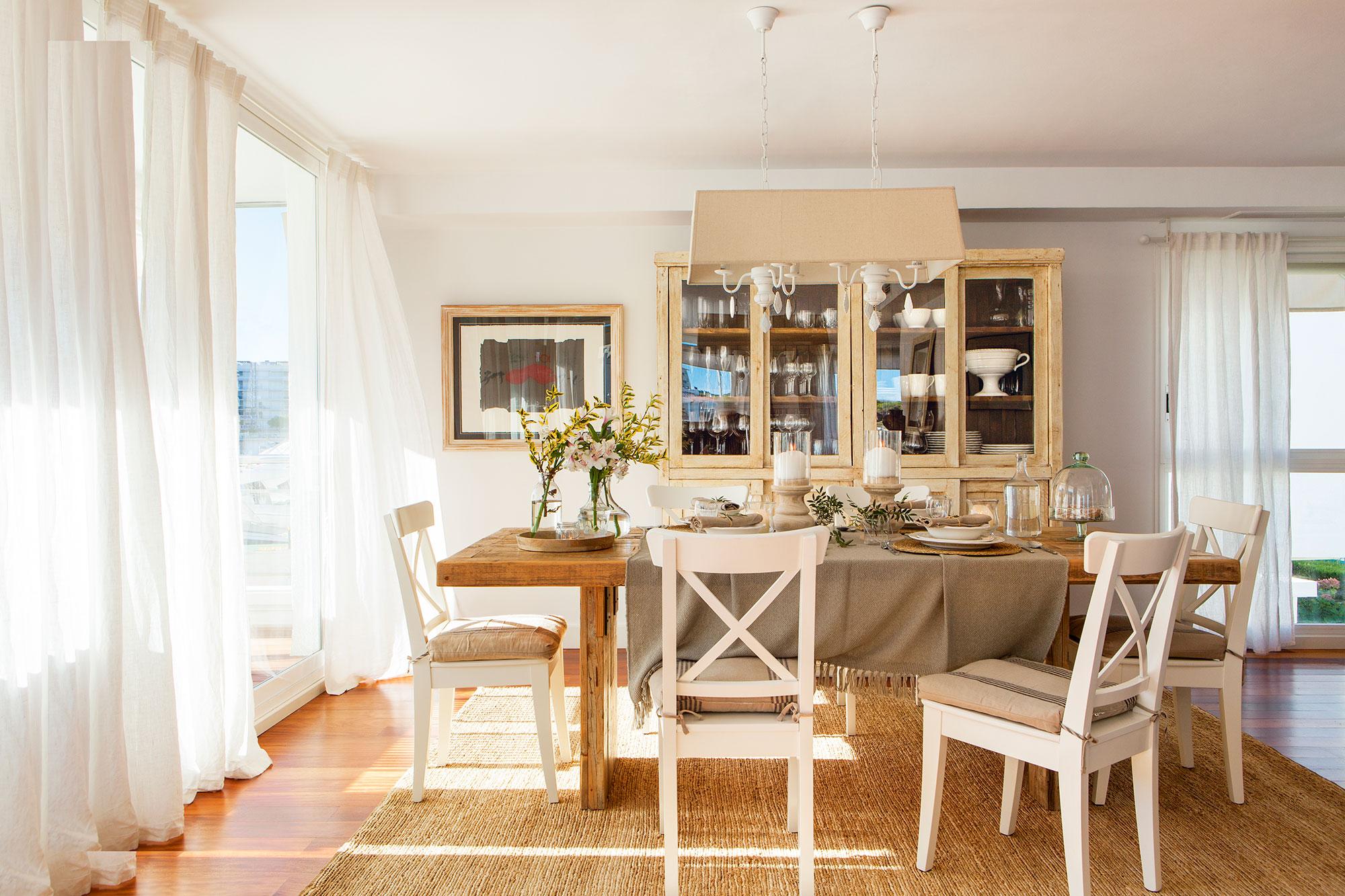 mesa de comedor -materiales