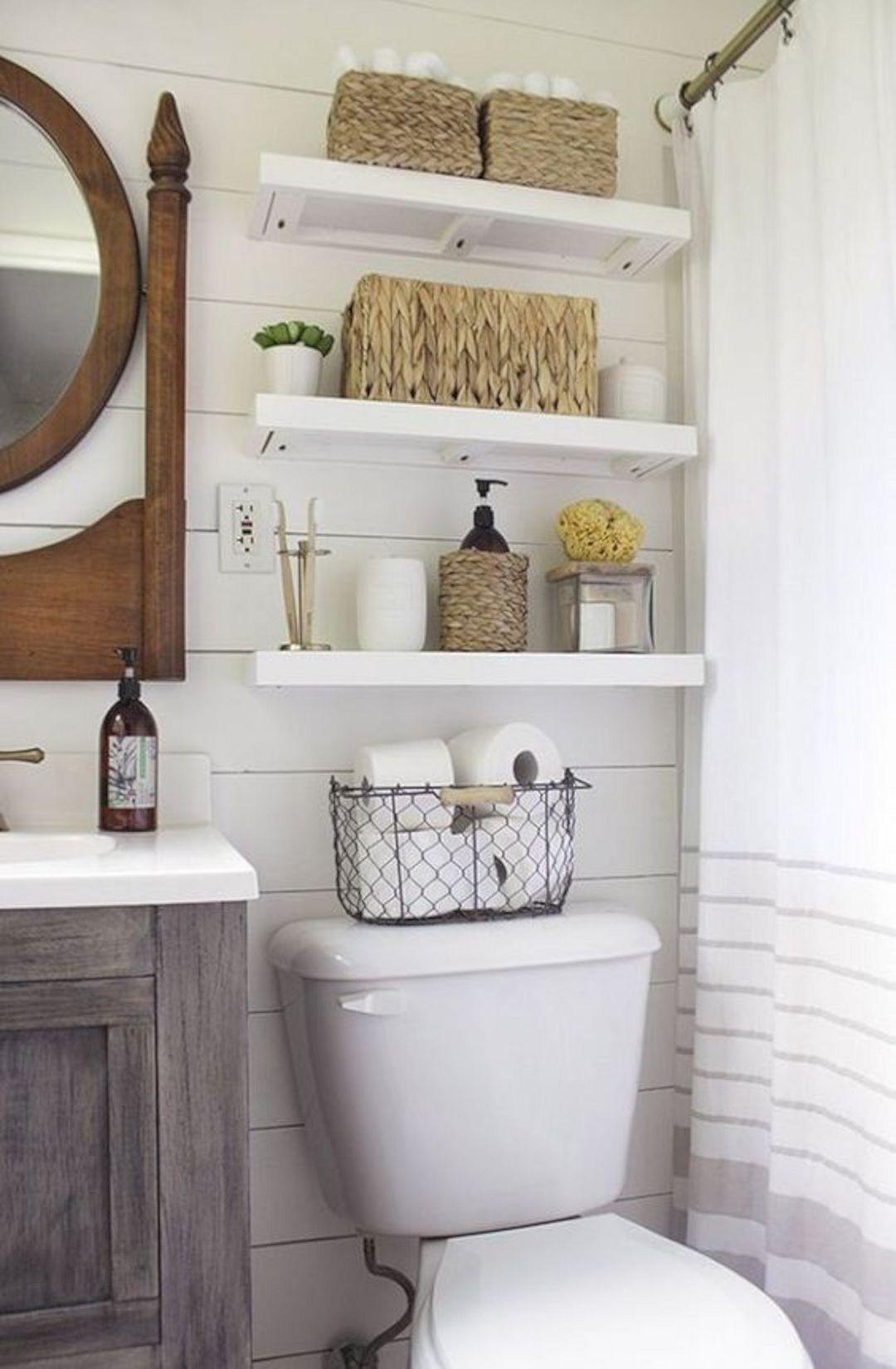 baño pequeño- almacenamiento