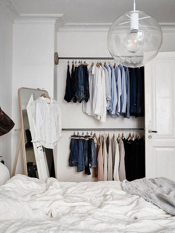 vestidor low cost sencillo