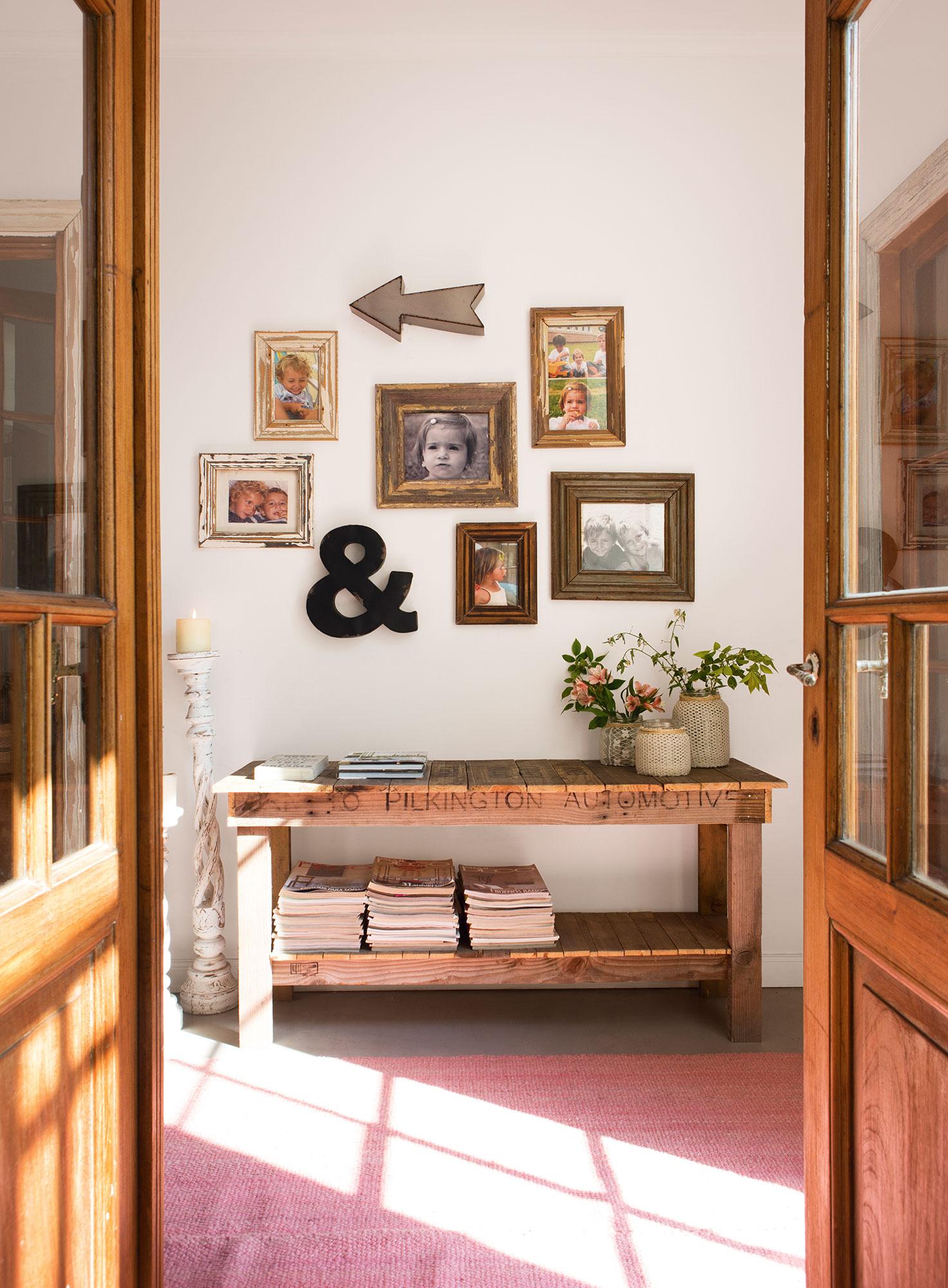 decoración cálida y personal