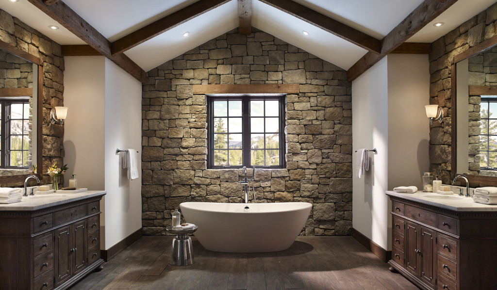 Baños rústicos - bañeras exentas