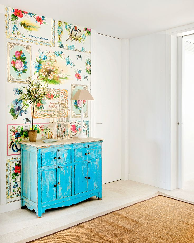 Boho Chic - muebles pintados
