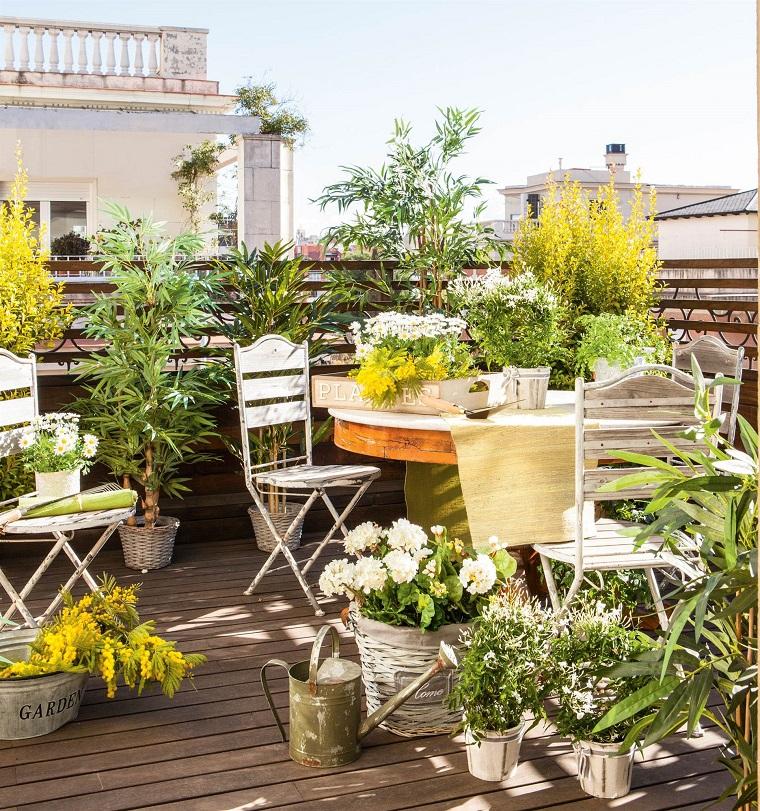 Terrazas - renovar plantas