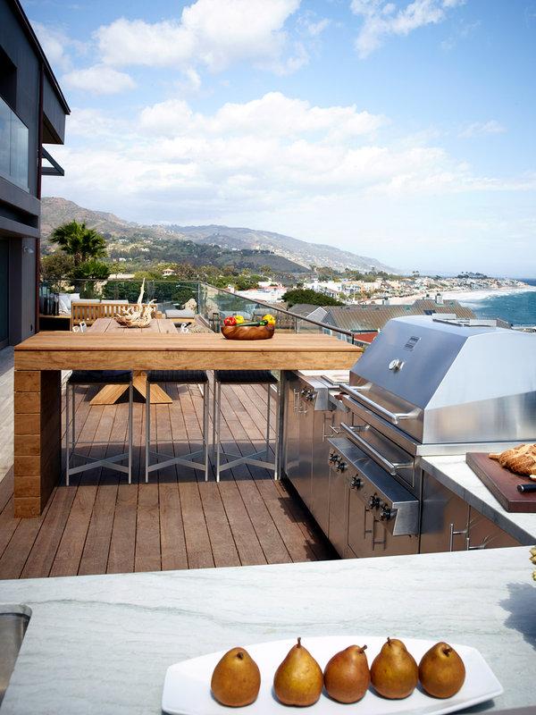 Cocina exterior - planificación