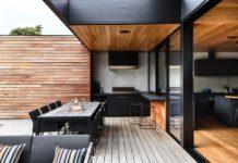 Cocina exterior moderna