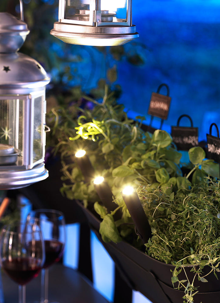 Iluminación exterior - linteras