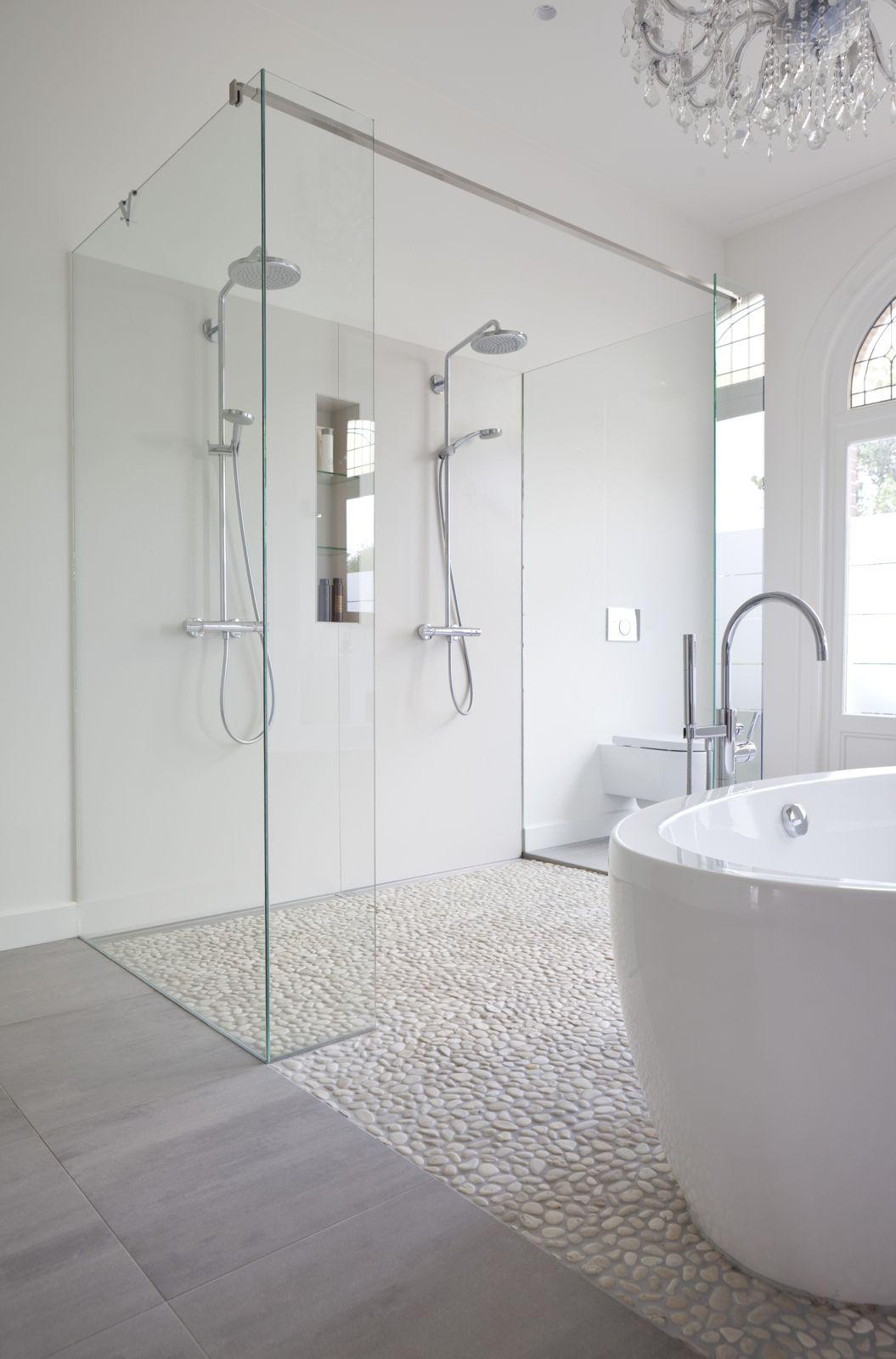 Platos de ducha de obra de piedra