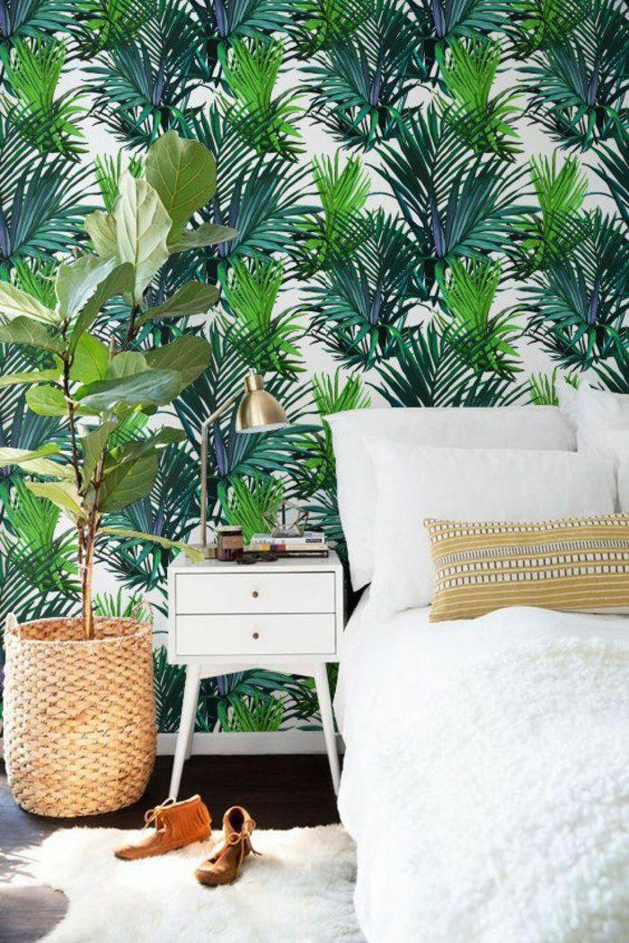 Estilo tropical en el dormitorio