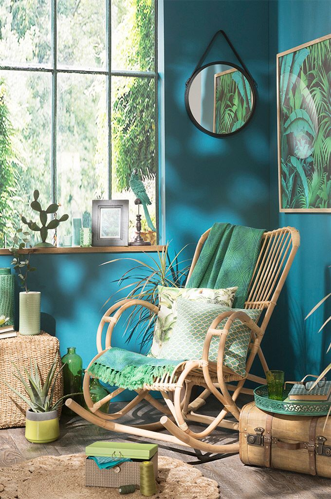 Estilo tropical - colores