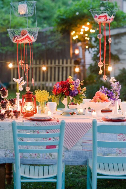 Fiesta de verano - decoración