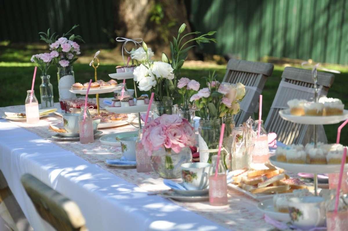 Fiesta de verano - la comida