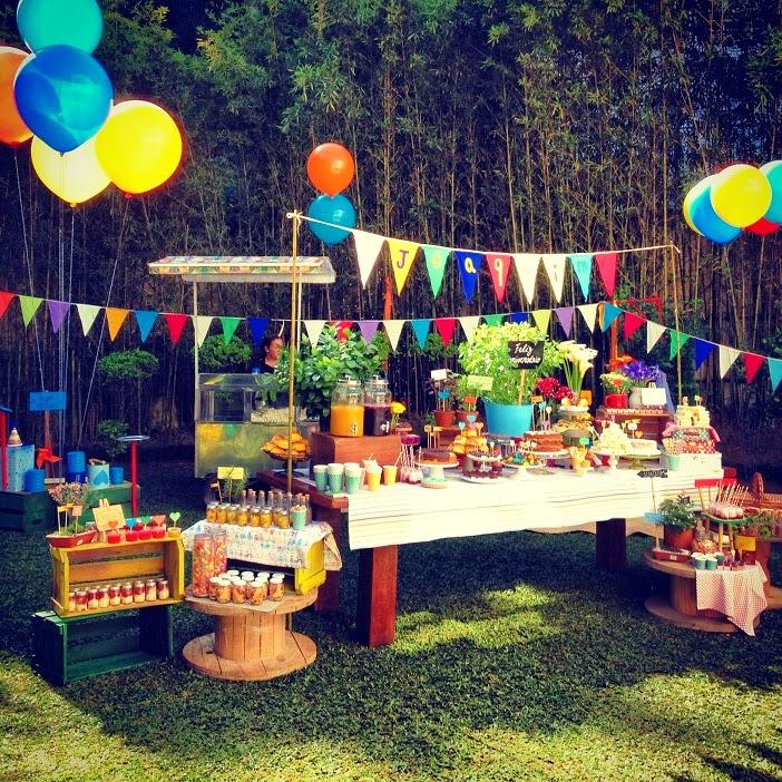 Fiesta de verano perfecta