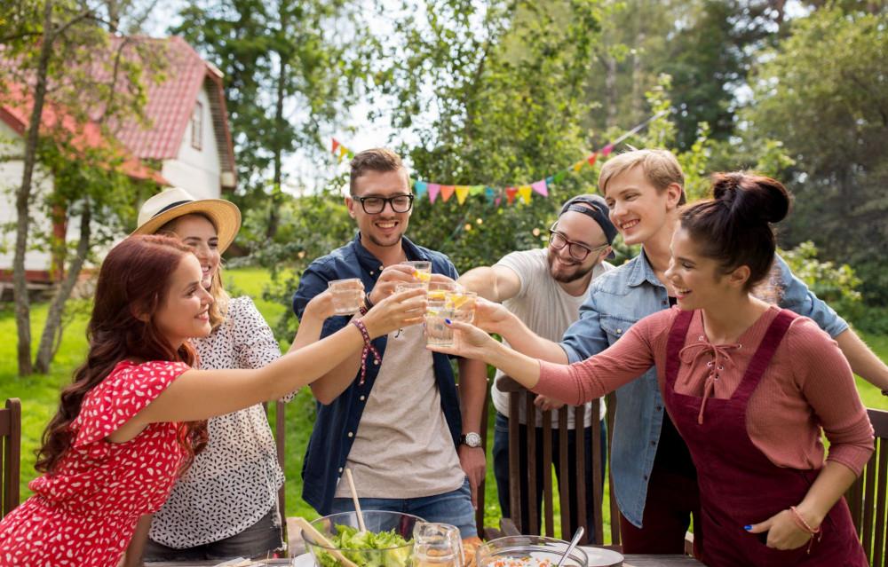 Fiesta de verano - los invitados