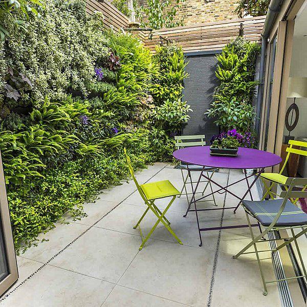 jardín pequeño vertical