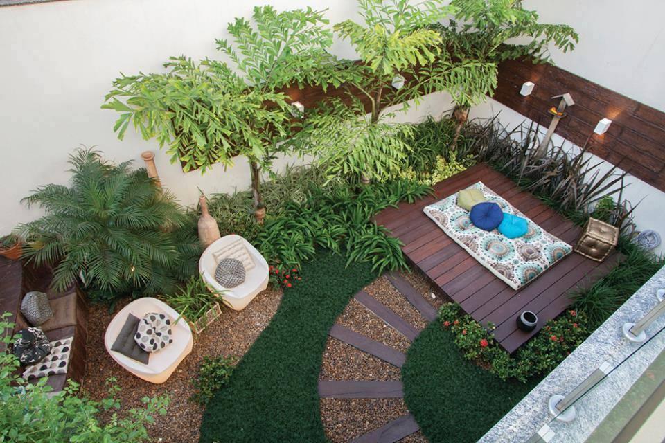 jardín pequeño - planificación