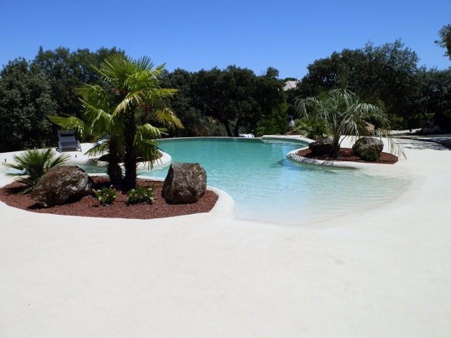 Revestimientos de piscina - arena