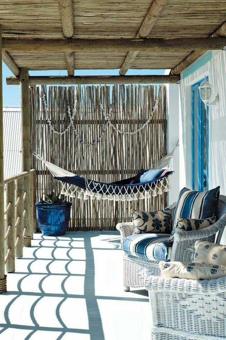 Casa de playa - hamaca