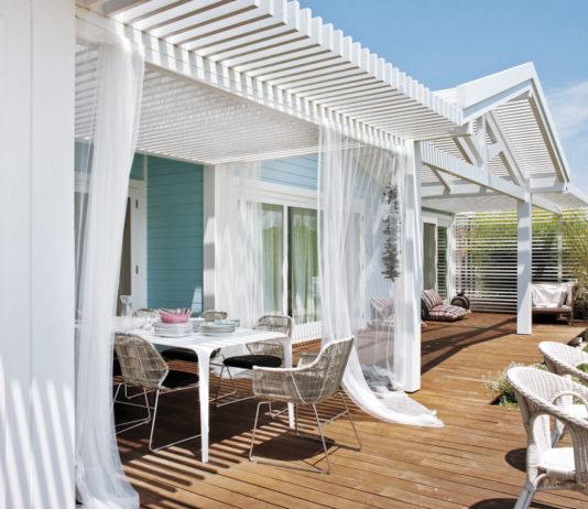 Casa de playa - materiales naturales