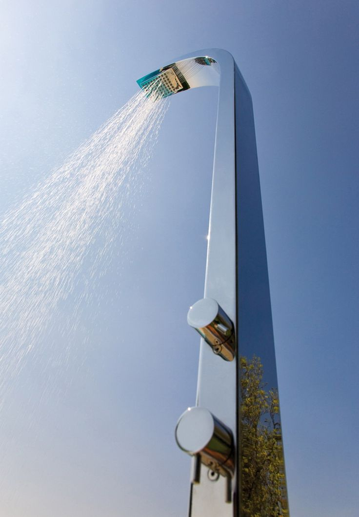 ducha exterior - alta gama