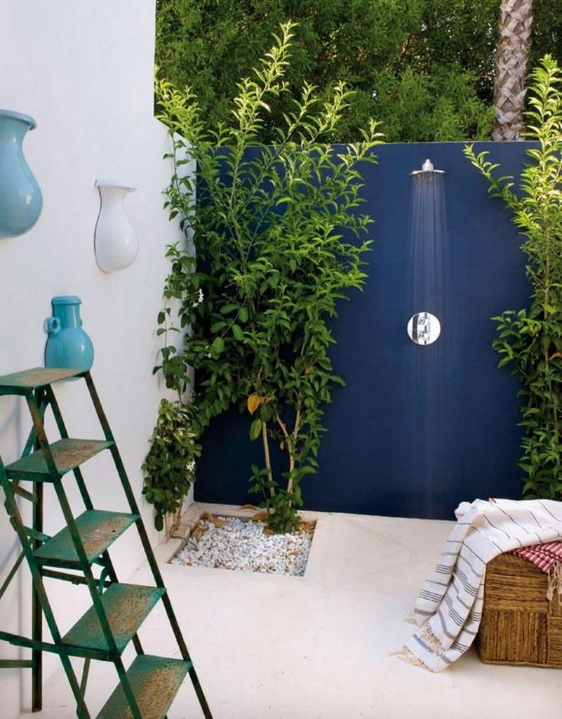 ducha exterior -ubicación