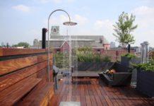ducha exterior - materiales
