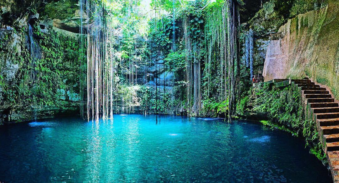 Piscinas naturales - Cenote Ik-kil,