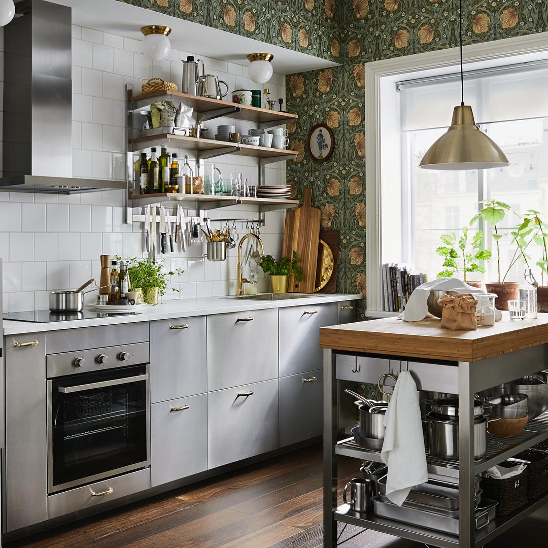 Cocina- espacio de almacenaje