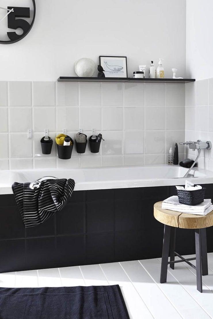 Baño - pintar los azulejos