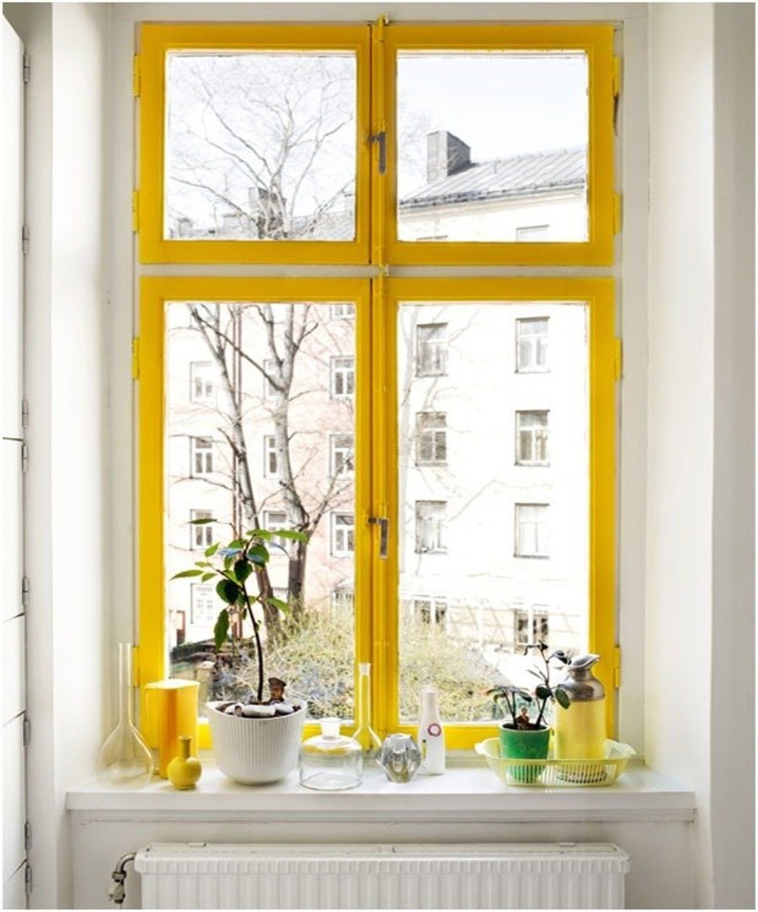 colores en las ventanas