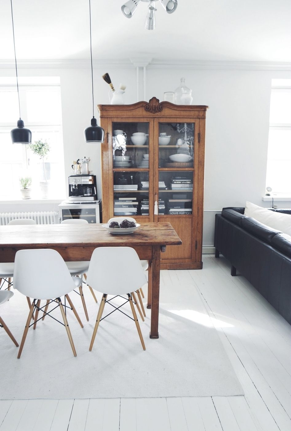 muebles antiguos - estilo nórdico