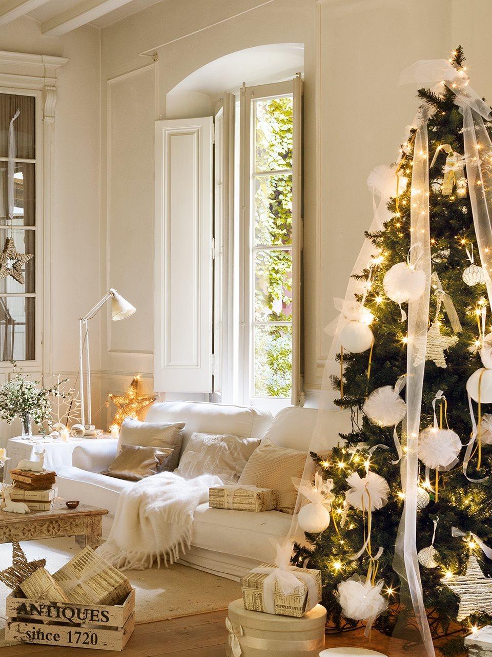 árbol de Navidad elegante