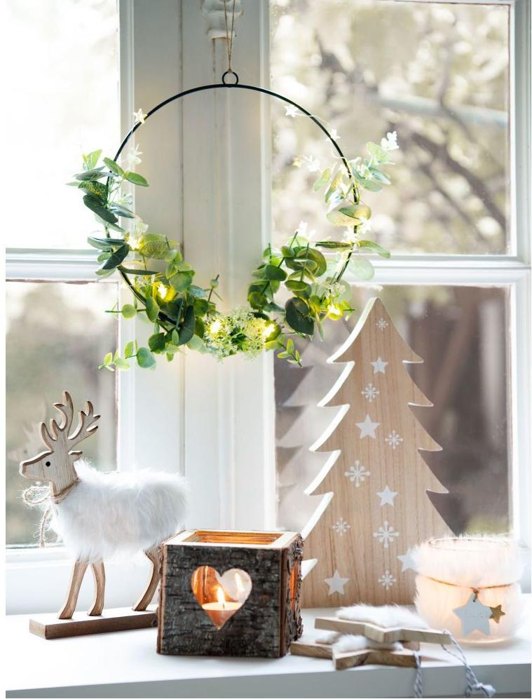 Navidad - decorar las ventanas