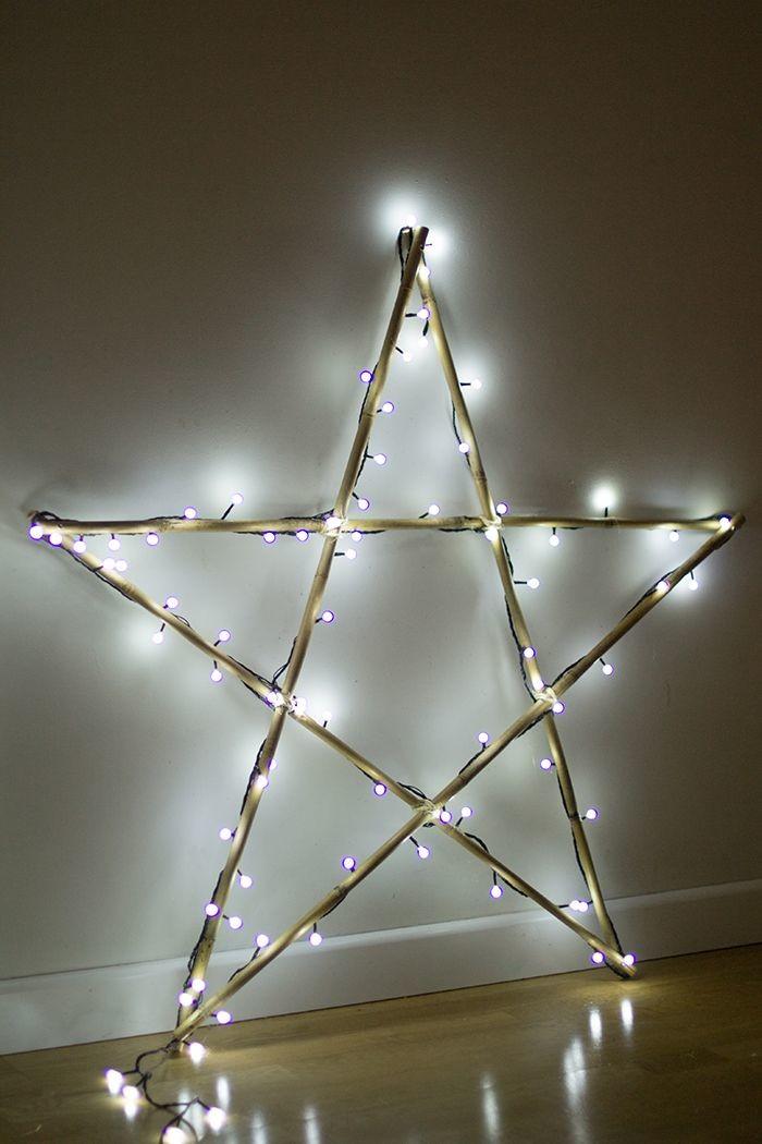 Navidad - estrella iluminada