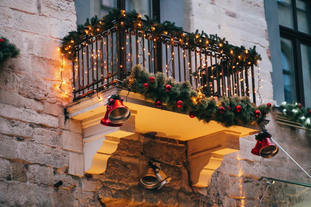 Navidad - decoración balcones