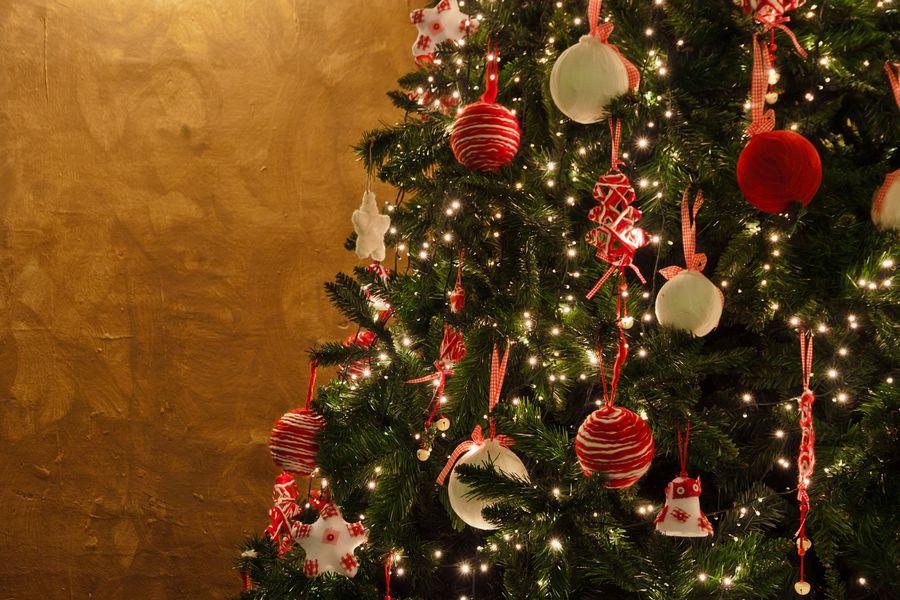 Navidad - árbol iluminado