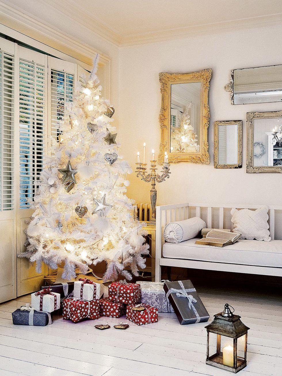 Navidad - árbol blanco