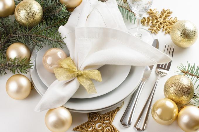 Nochevieja- decoración mesa