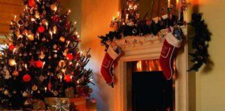 Arreglos navideños con luz