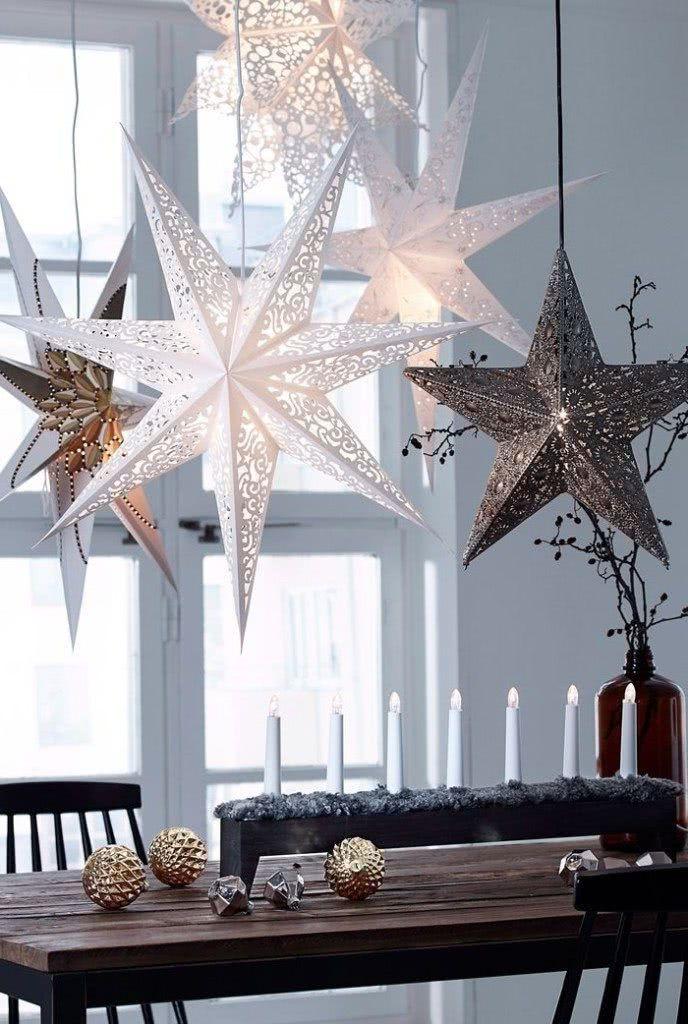 Arreglos navideños - estrellas