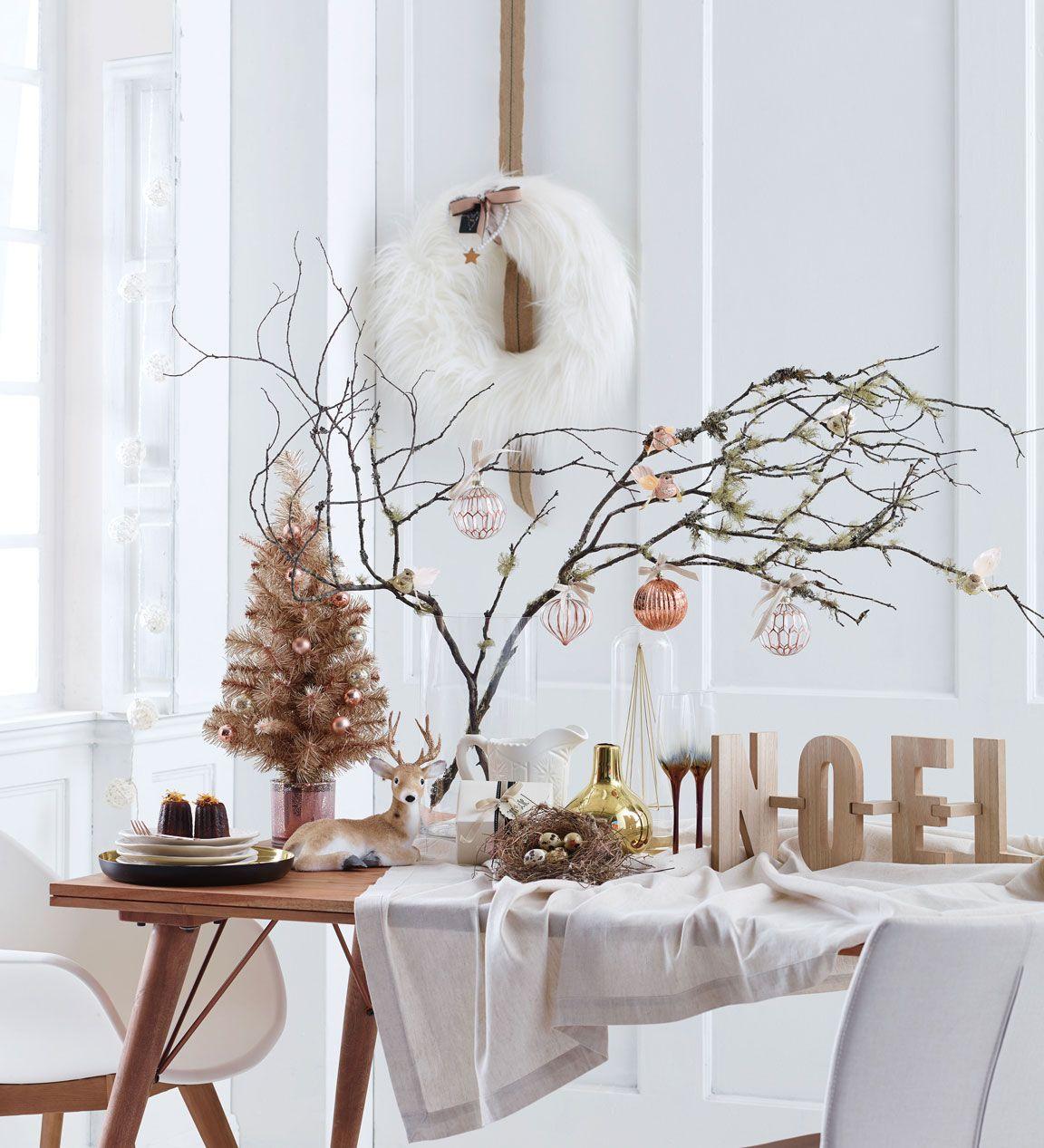 Arreglos navideños escandinavos