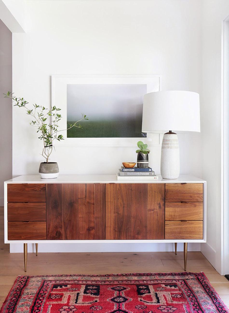 Aparadores de estilo minimalista
