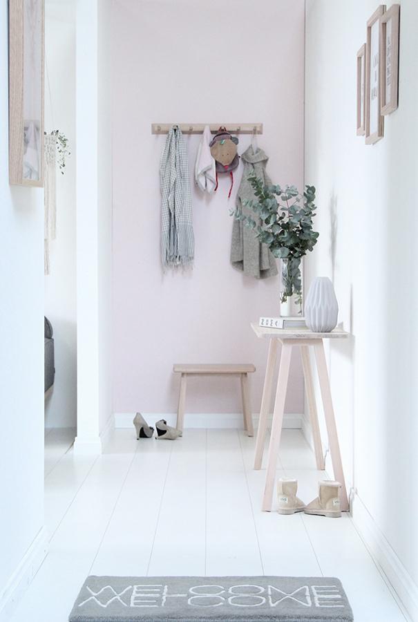 Decoración de pasillos - tonos claros