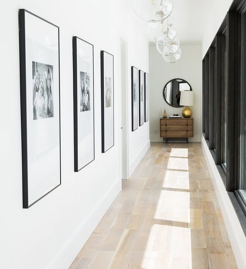 Decoración de pasillos - cuadros