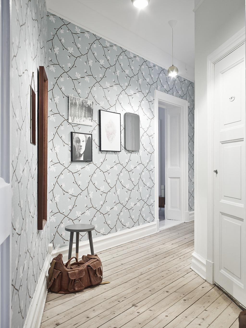 Decoración de pasillos - papel pintado