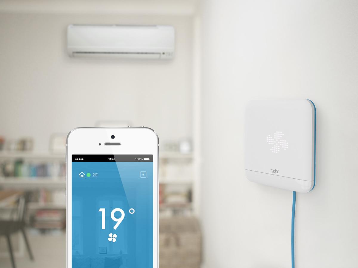 casa inteligente - Tado refrigeración