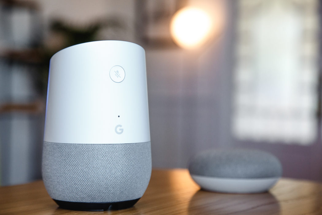 casa inteligente - Google home