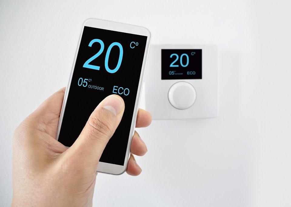 casa inteligente - control temperatura