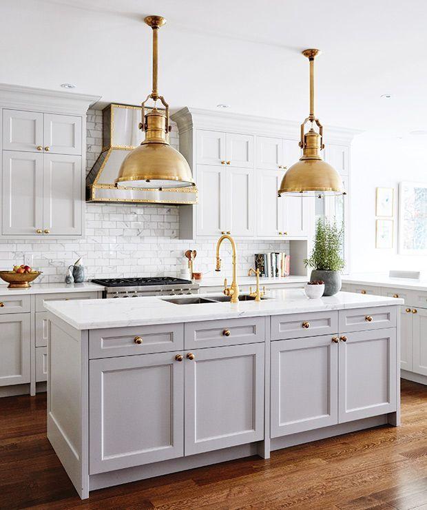 encimeras de cocina en color blanco