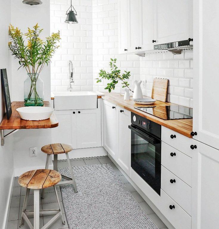 cocinas pequeñas de estilo nórdico